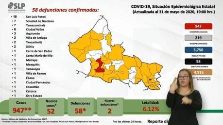 """San Luis Potosí regresa a la """"normalidad"""" con récord en contagios"""