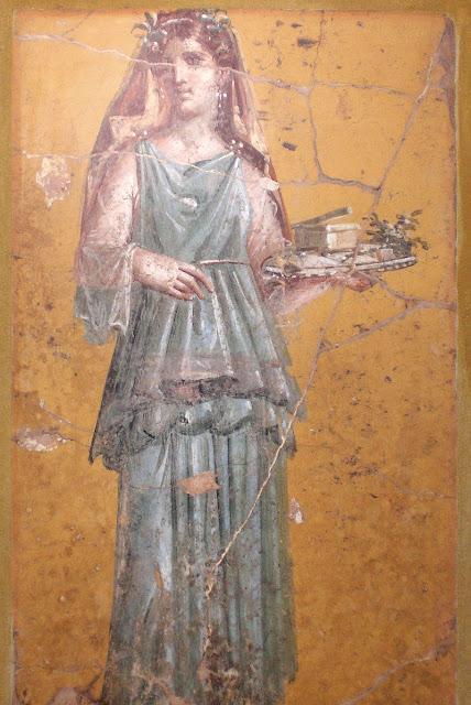 La vejez de la mujer romana.
