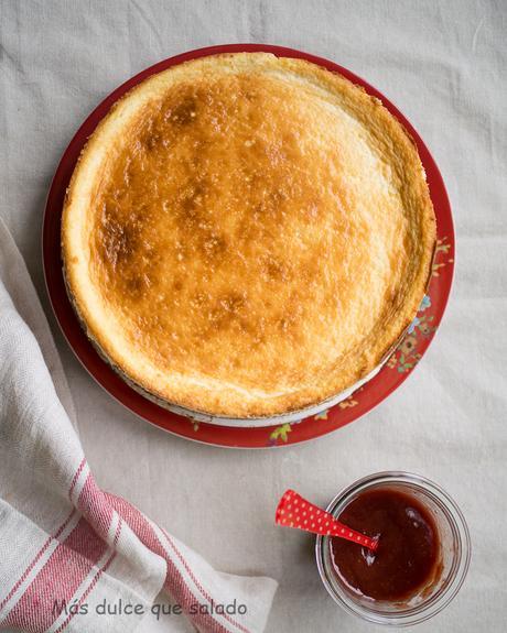La tarta de queso perfecta. Vídeo receta
