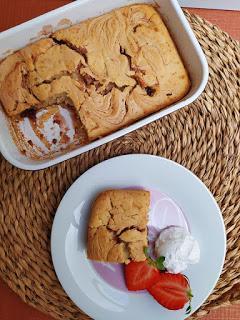 Tarta de tortitas sin leche y sin huevo