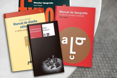 Libros sobre tipografía
