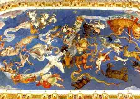 """El """"Mapamundi"""" del Palacio Farnesio en Caprarola (III de IV)"""