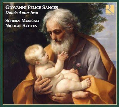 Motetes de Sances por Nicolas Achten en Ricercar