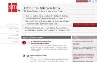 María Bellido ganadora del I Concurso de Microrrelatos SMs