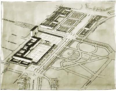 Zuazo_esquema edificios hipodromo_1933