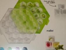 Cubitos hielo frutas