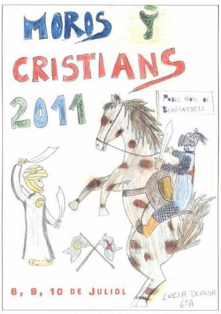 Benitachell. Fiestas de Moros y Cristianos 2011