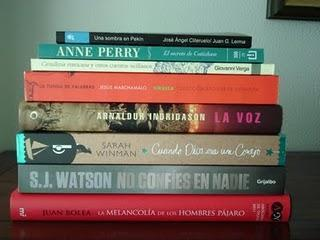 1 mes de libros: julio