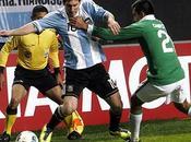 Argentina rescató pobre empate contra Bolivia