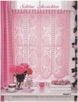 Nuestro Color  Podemos Tejer Cortinas De Crochet O  Prarlas Tejidas