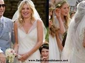Kate Moss casó Jamie Hince vestido John Galliano