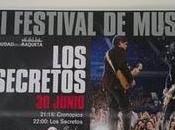 Cronopios Festival Ciudad Raqueta teloneando Secretos