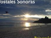 Box: Postales Sonoras. Dibujando paisajes notas acordes.