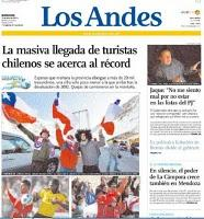 Una revista parroquial hizo el mejor título del domingo en Mendoza