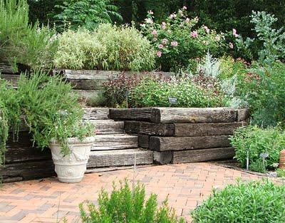 Mas sobre jardines rusticos paperblog - Decoracion para jardines rusticos ...