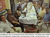 Córdoba: Asamblea Federación Provincial Taurina