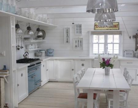 Cocina r stica blanca paperblog for Cocinas rusticas blancas