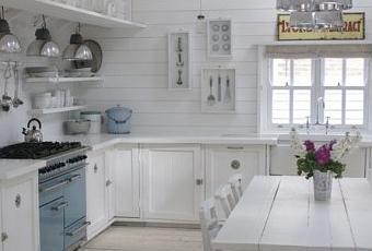 Cocina r stica blanca paperblog - Cocina rustica blanca ...