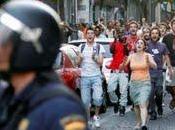 Echan Lavapiés antidisturbios.
