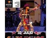 Carlinhos brown presenta discos veranos villa domingo julio escenario puerta ángel 22.00