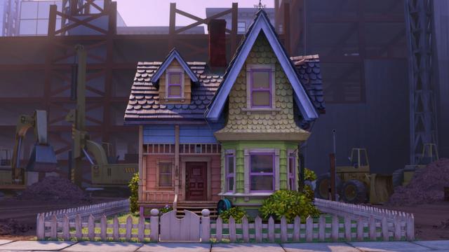 La casa de up puede ser tuya en la vida real paperblog for La casa del retal