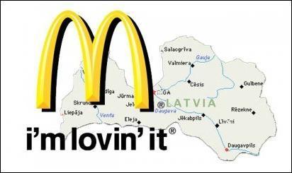 Si fuera un país, McDonald's superaría a Letonia en su PIB 7...