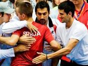 "Copa Davis: Serbia, Francia España, paso ""semis"""