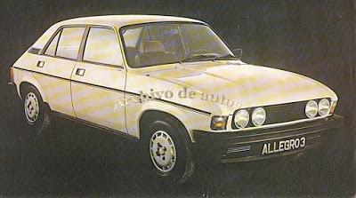 Austin Allegro 3 Saloon 1980