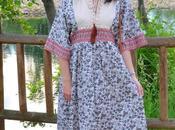 Maxi vestido tribal caracolas