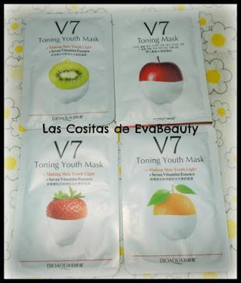 Mascarilla facial tissu BIOAQUA Y ROREC aliexpress belleza skincare low cost