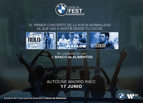 BMW Drive-In Fest, el 17 de junio en Madrid con Rulo y La Contrabanda, Marlon y Ed is Dead