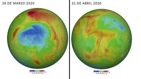 Cierre del agujero de ozono