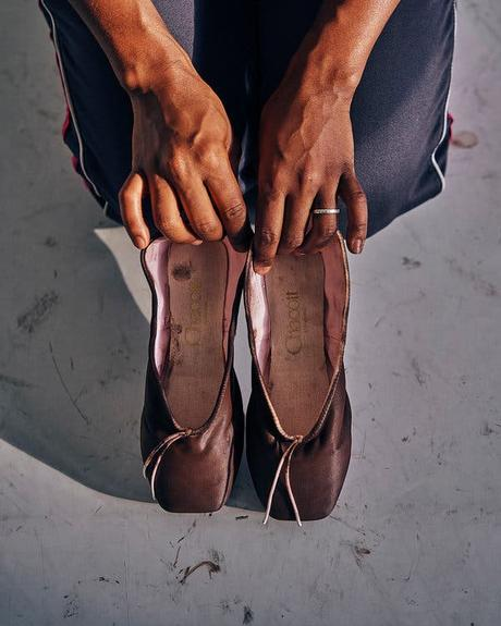 El fin del pancake ballet shoes