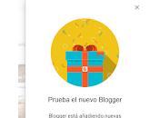Blogger actualiza Interfaz