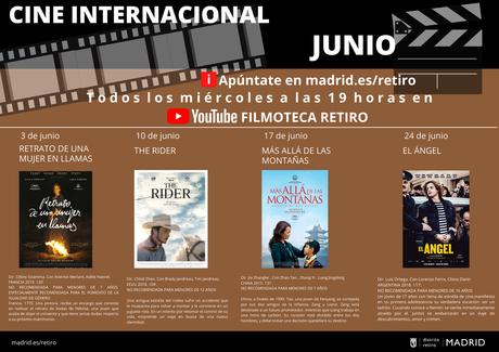 Filmoteca Retiro inicia sus proyecciones gratuitas de junio con