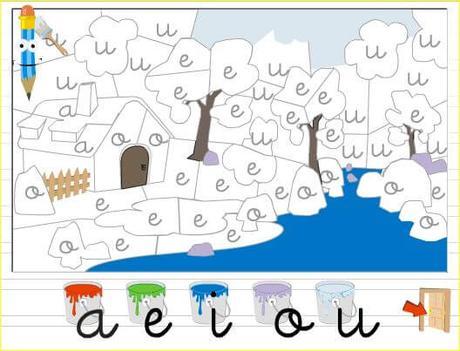 10 juegos interactivos para aprender las vocales