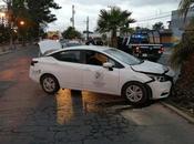 Trabajador Ayuntamiento presuntamente alcoholizado choca auto oficial