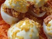 Huevos rellenos estilo maruchi