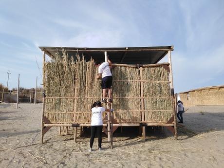 Módulo de vivienda sostenible | 10 Historias de Arena