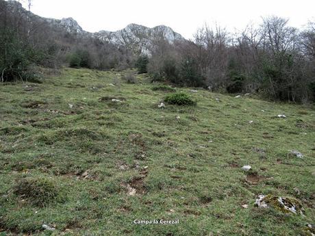 Llamo-Llampaza-Llazarandín-Picu Santiago-Minas de Texeo