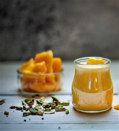 Tosta de secreto ibérico con salsa de mango