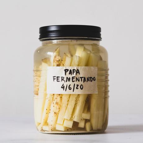 Cómo hacer papa fritas fermentadas