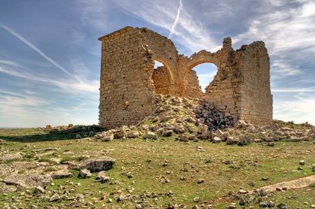 turismo de cercanía en Toledo, restos del castillo de El Toboso