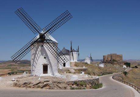 turismo de cercanía en Toledo, molinos de Consuegra