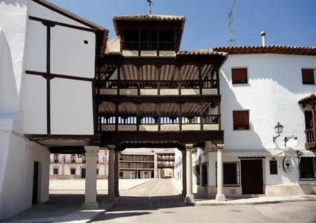 turismo de cercanía en Toledo balcones de Tembleque