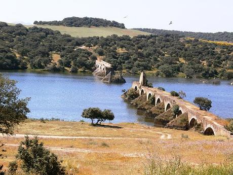 turismo de cercanía en Badajoz, puente de Olivenza