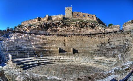 turismo de cercanía en Badajoz, teatro romano de Medellín