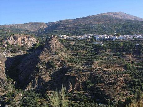 turismo de cercanía en Granada, vistas de Lanjarón