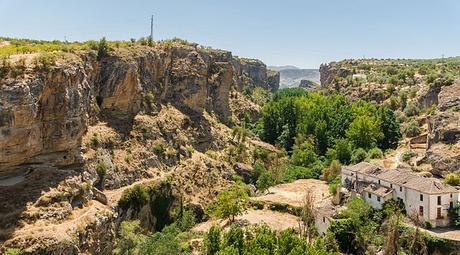 turismo de cercanía en Granada, paisaje de Alhama de Granada