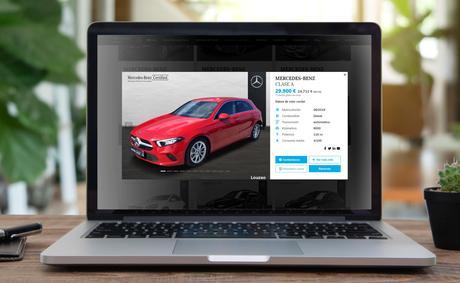 Louzao Mercedes-Benz lanza su primer e-commerce permitiendo la compra de vehículos 100% online